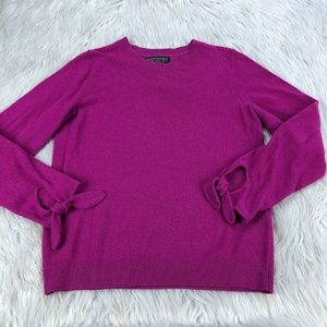 Banana Republic Tie Cuff Pullover Sweater